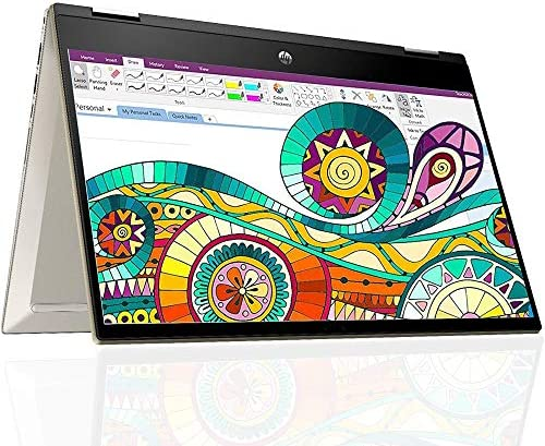 Hp Pavilion X360 14 Inch Student and Business 2 in 1 Touchscreen Laptop with Woov Sleeve Intel product image