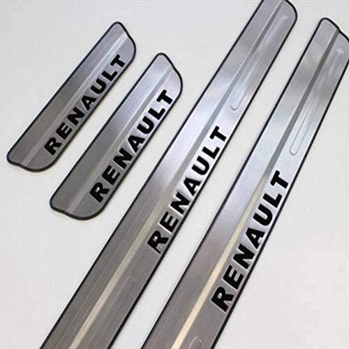 Para FIAT Bravo 2008-2012 Coche Tiras De Umbral, AutomóViles Acero Inoxidable ProteccióN Pedal De DiseñO Accesorios