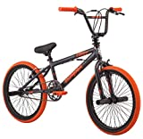 Mongoose 2019 20' Outerlimit BMX Bike, Dark Grey/Orange