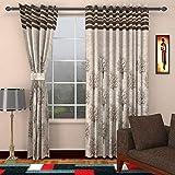 HOMERICA Premium Thick Jute Fabric Room Darkening Curtains Set of 2 PCS