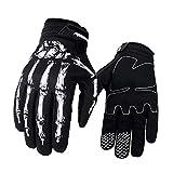 Halsey99 1 Paar Fahrrad-Fahrrad-Skelett-Handschuhe Motorrad-Motocross-Handschuhe im Freien...
