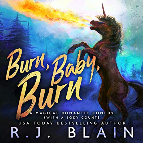 Burn, Baby, Burn audiobook cover art
