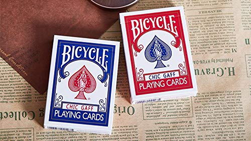 Bicycle Chic Gaff | Blue | Playing Cards by Bocopo | Poker Deck |...