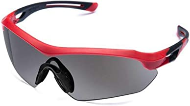 Óculos Proteção ESPORTIVO STEELFLEX FLORENCE VERMLEHO FUME Esportivo AIRSOFT Teste Balístico Paintball Resistente A Impact...