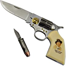 Billy the Kid Legends of the West Gun Knife - 2 7/8
