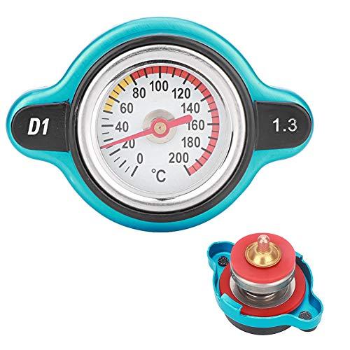 Suuonee Water Tank Cover, Universele Hoofd Temperatuur Meting Water Temperatuur Tank Cover Druk Thermometer 1.3 bar
