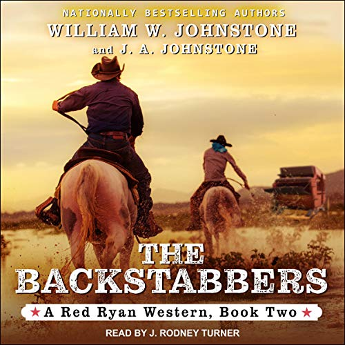 Red Ryan Series 2, The Backstabbers cover art