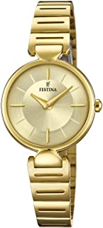 Festina F20319/1 Stainless Steel Round analog Watch for Women
