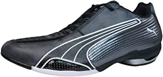 PUMA Testastretta Womens Leather Motorsport Trainers/Shoes - Black
