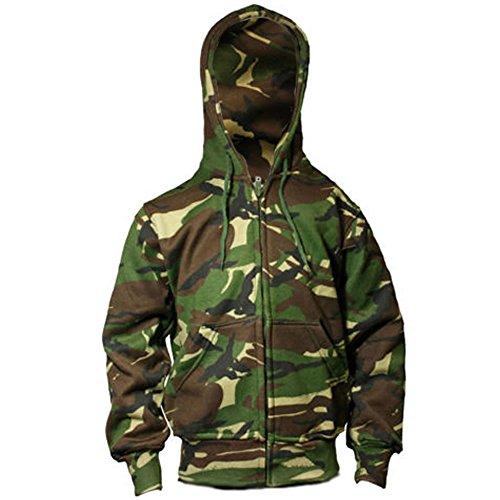 Niños / Niños Camo Hoody British Army Militar Combat DPM Cadete Sudadera con capucha