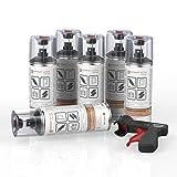 AUPROTEC Rostschutz Spray AUPRORUST Active Roststopp Grundierung Anti Rostspray Auto Primer Spray 6X 400ml + 1x Original Pistolengriff