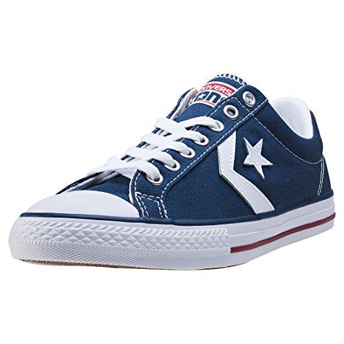 Converse Lifestyle Star Player Ev Ox, Zapatillas Unisex niño, Azul (Navy/White 410), 31 EU