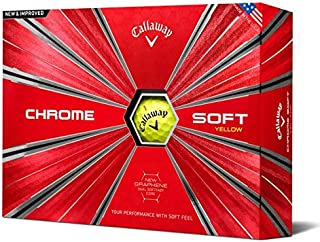 Golf Chrome Soft Golf Balls, (One Dozen), Prior Generation
