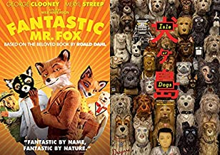 Mr. Anderson's Amazing Ideas Put To Work With Animals And Imagination : Isle Of Dogs +Fantastic Mr. Fox 2 DVD Off Beat Com...