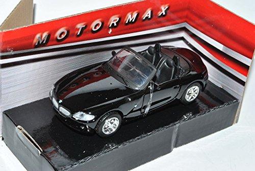 B-M-W Z4 E85 Cabrio Schwarz Roadster 2002-2008 1/43 Motormax Modell Auto