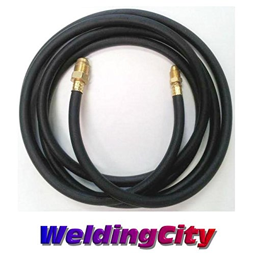 WeldingCity 200Amp Power Cable Hose 46V28R 1-Pcs Style 12.5-ft Rubber for Air