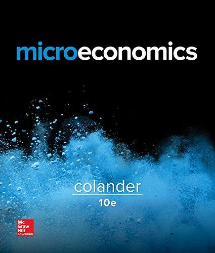 Microeconomics (The Mcgraw-hill Series in Economics)