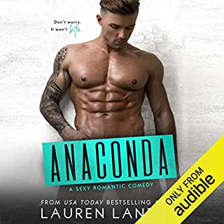 Anaconda audiobook cover art