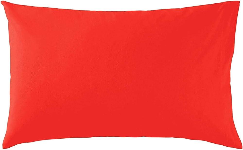 Bassetti ,coppia di federe per cuscini in cotone al 100 %