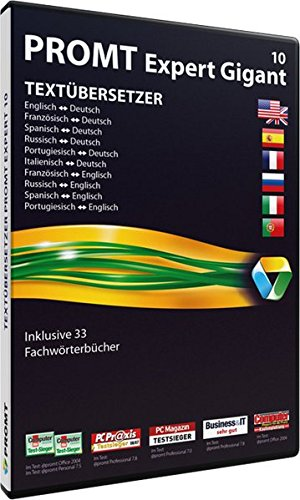 Jourist Verlags GmbH PROMT Expert 10 Gigant Bild