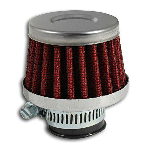 JOM Car Parts & Car Hifi GmbH 40332 Filtres à Air Power- Filter Mini, Universel, Admission directe Universelle - Compatible avec Raccords 9,12 et 25 mm - Qualité Allemande.
