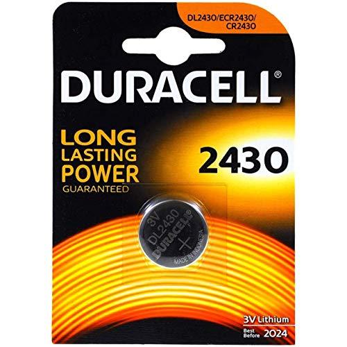 Duracell Batterie Elektronik 2430 Lithiumknopfzelle (CR2430) 3,0V 1St