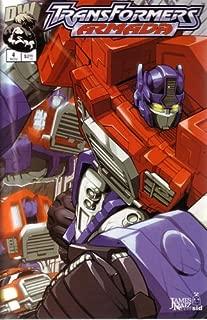 Transformers Armada #1 (Variant Foil Cover)