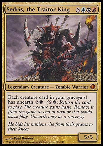Magic The Gathering - Sedris, The Traitor King - Shards of Alara