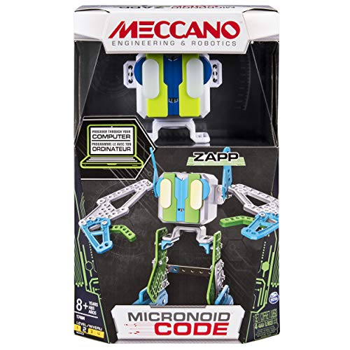 Meccano by Erector, Micronoid Code Zapp Programmable Robot Building Kit
