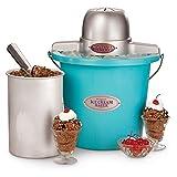 Ice Cream Maker 4qt Blue