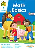 School Zone - Math Basics 1 Workbook - 32 Pages, Ages 6 to 7, Grade 1, Addition, Subtraction, Greater Than, Less Than, Comparing, and More (School Zone I Know It! Workbook Series)