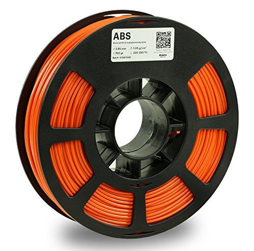 KODAK Filamento di stampa 3D ABS (arancione, 2,85 mm)