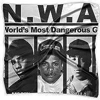 N.W.A Ice Cube MC Ren DJ Yella Dr. Dre スカーフ レディース 正方形 スクエアスカーフ 多機能 バッグ飾り 髪飾り ブレスレット お洒落 カジュアル 薄手 卒業式 結婚式 冠婚葬祭 旅行 通勤