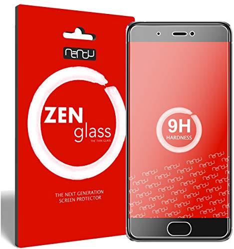 ZenGlass Nandu (2 Pezzi) Pellicola Protettiva in Vetro Compatibile con Xiaomi Mi5S I Protezione Schermo 9H I (più Piccolo del Display Curvo)