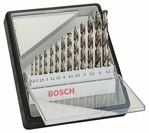 Bosch 2607010538 HSS-G Drill Bit Set, Silver