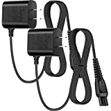 2 Pieces 15V Shaver Charger Universal Portable Shaver Charger Replacement Charger Cord Portable Adapter Compatible with Philips-HQ8505 Norelco Electric Shaver