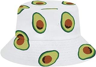 JHGFG Sombrero de Pescador Boonie Cap Sombrero de Sol Playa Ajustada Sombrero de Cubo de Sol | Protector Solar