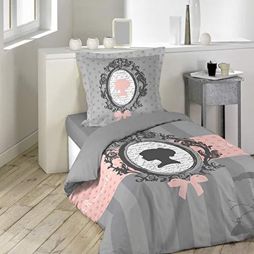 douceur d'intérieur parure 2 pièces 140x200 cm boudoir