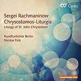 Rachmaninov: Liturgia De San Juan Crisóstomo / Fink