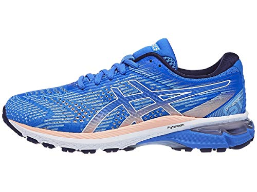 ASICS Women's GT-2000 8 Shoes, 8M, Blue Coast/White