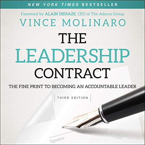 Page de couverture de The Leadership Contract