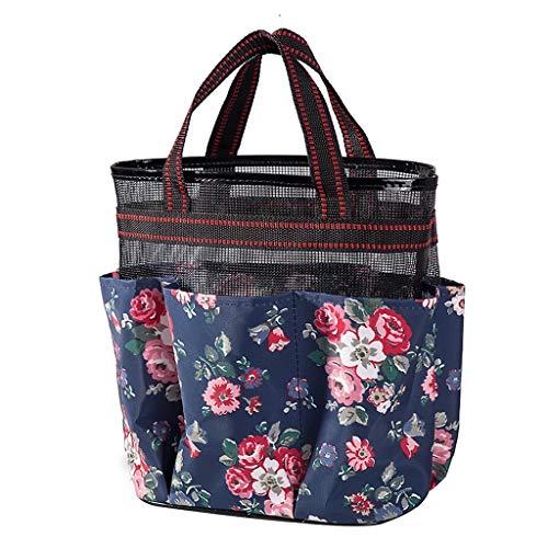 VEED Fashion Mesh Tote Beach Bag Compras Supermercado Bolso de Mano de Secado rápido