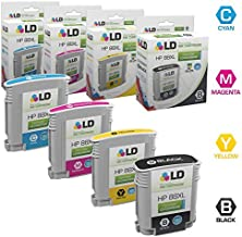 LD Remanufactured Ink Cartridge Replacement for HP 88XL High Yield (Black, Cyan, Magenta, Yellow, 4-Pack)
