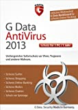 G Data Antivirus 2013 - 1 Jahreslizenz