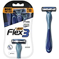 8-Count BIC Flex 3 Titanium Men's Disposable Razor