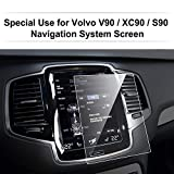 LFOTPP Volvo S90 V90 XC90 8,7 Zoll Navigation Schutzfolie - 9H Kratzfest Anti-Fingerprint Panzerglas Bildschirmschutzfolie GPS Navi Folie