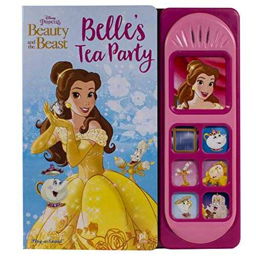 Disney Princess - Beauty and the Beast: Belles Tea Party Little Sound Book - PI Kids