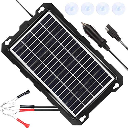TITLE_POWISER Solar Battery Charger