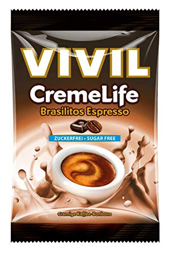 Vivil Creme life Brasilitos Geschmack ohne Zucker 110g 5er Pack