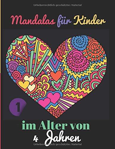 Mandalas für Kinder im Alter von 4 Jahren: Band 1 ,kleurplaat ,ab ,5,  6 ,7 ,8 ,9, 10, 11, 12,
